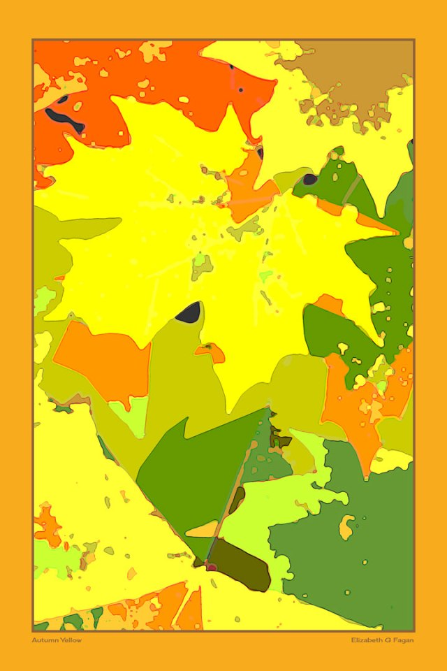 Autumn Yellow © Elizabeth G Fagan, lakemichigansleftcoast.com, Lake Michigan's Left Coast
