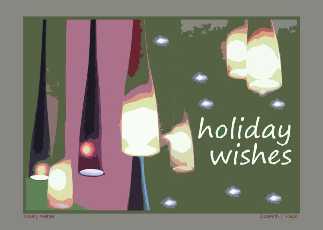 Holiday Wishes © Elizabeth G Fagan, lakemichigansleftcoast.com, Lake Michigan's Left Coast