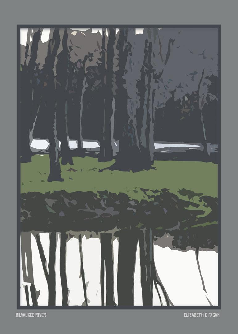 Milwaukee River © Elizabeth G Fagan, lakemichigansleftcoast.com, Lake Michigan's Left Coast