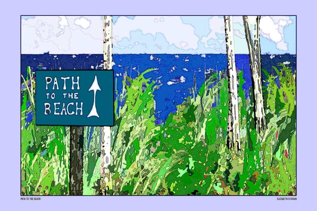 Path to the Beach © Elizabeth G Fagan, lakemichigansleftcoast.com, Lake Michigan's Left Coast